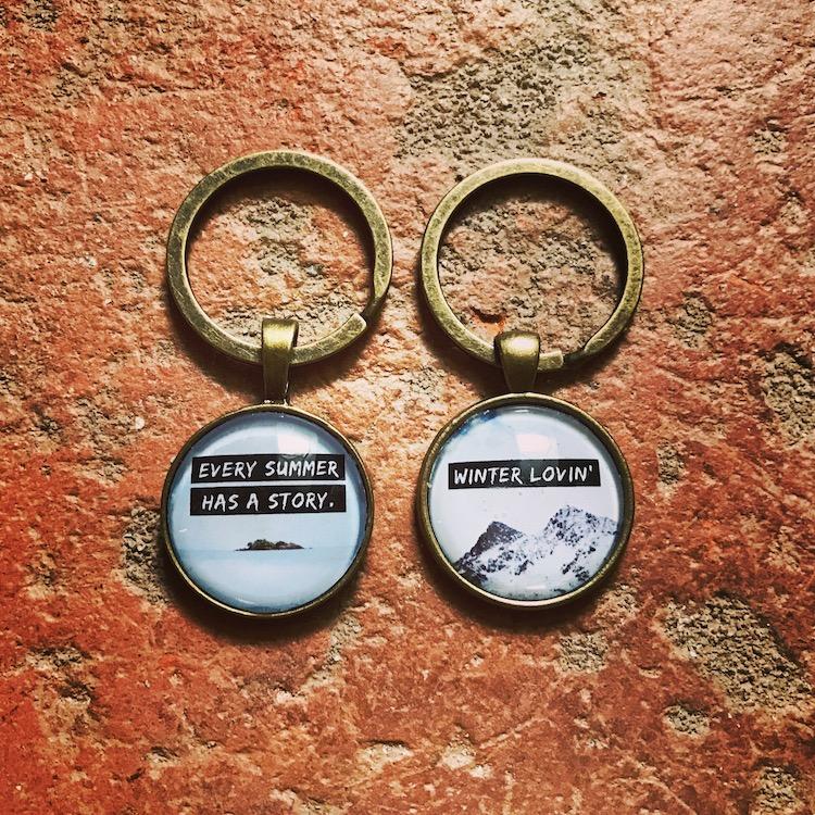 Cabochon Schlüsselanhänger
