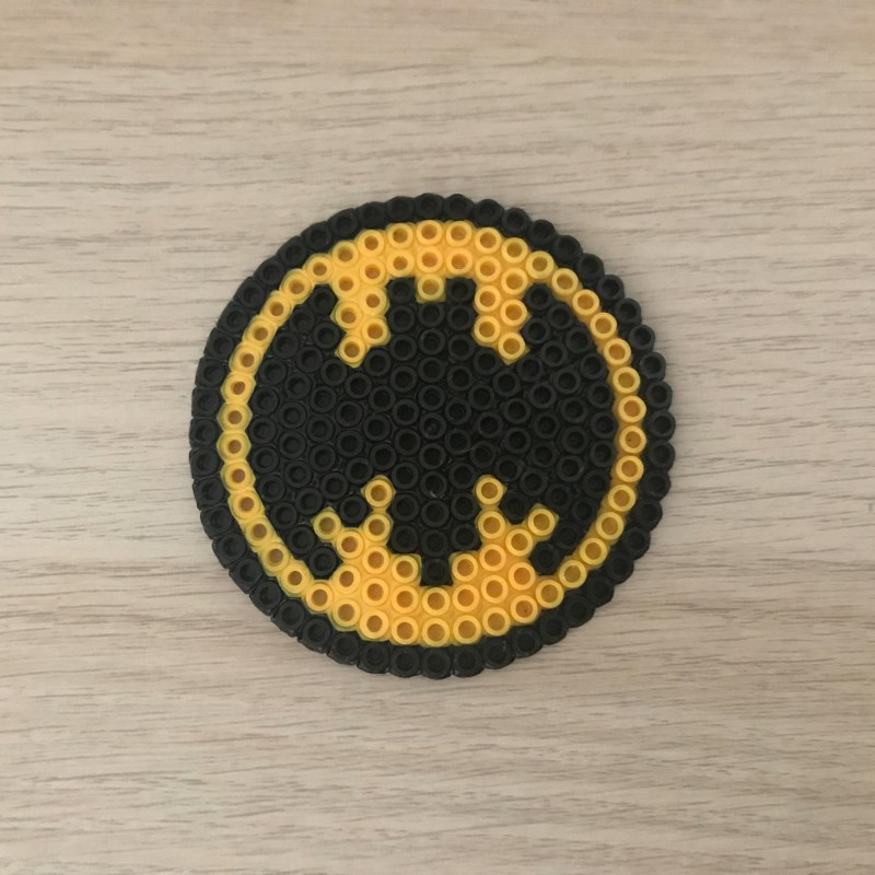 Bügelperlen Batman