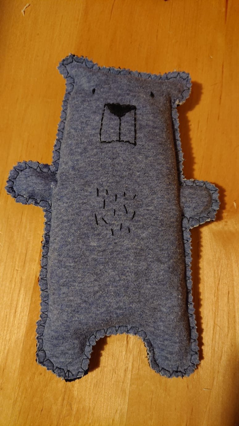 Teddybär aus Pullovern
