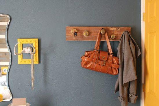 upcycled key rack