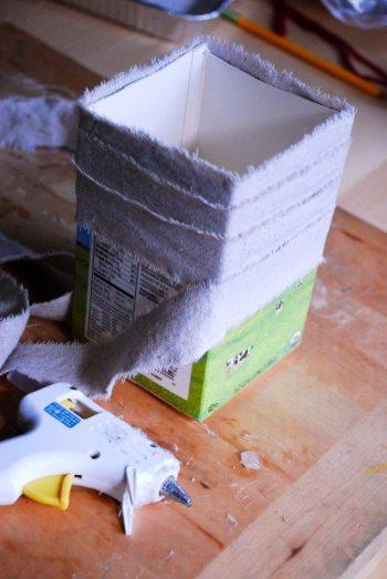 milk carton planter