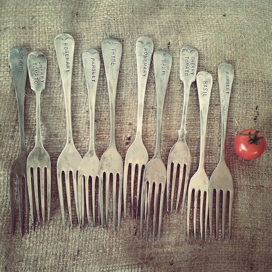 Vintage Cutlery Reuse Upcycle That