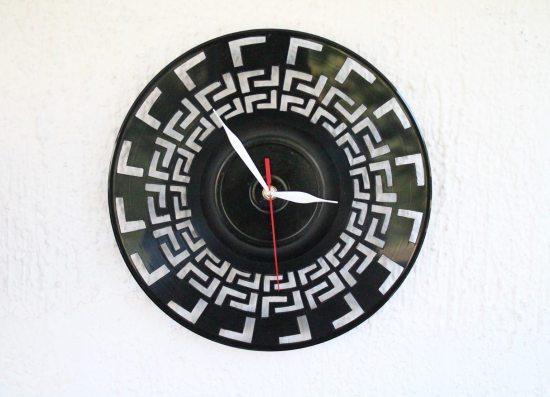 Record Clock Art