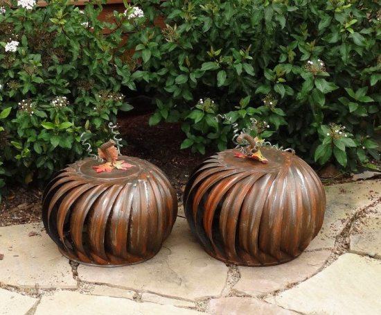 upcycled pumpkin