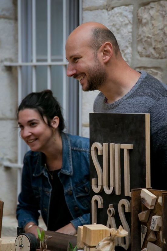 Suit-Case Workshop: Keren and Daniel Singer