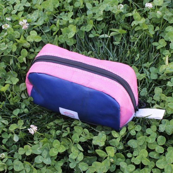 Toastie Pouch – Blue and Pink