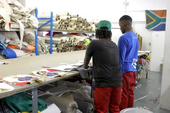 Sealand - cutting room crew