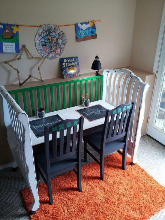 DIY Crib Upcycle