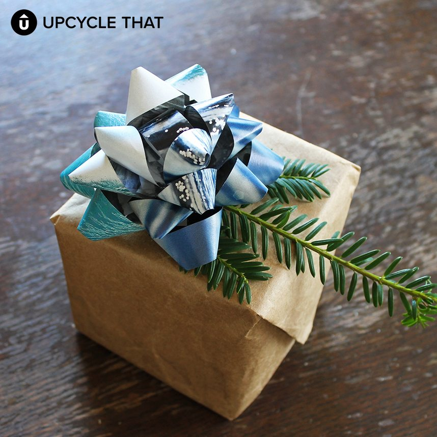 Diy gift bow upcycle that diy gift bow negle Choice Image