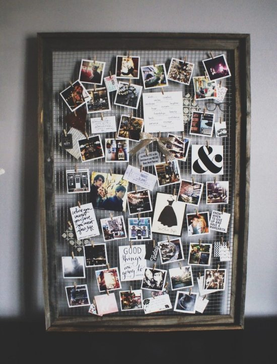 Repurpose Old Picture Frames - Mood Board