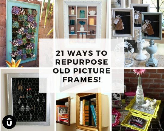 21 Ways to Repurpose Old Picture Frames