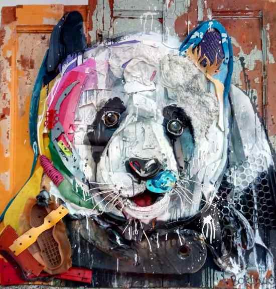 Trash Animal - Bordalo II
