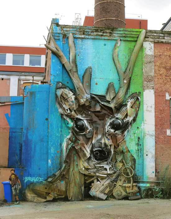 Trash Animal deer