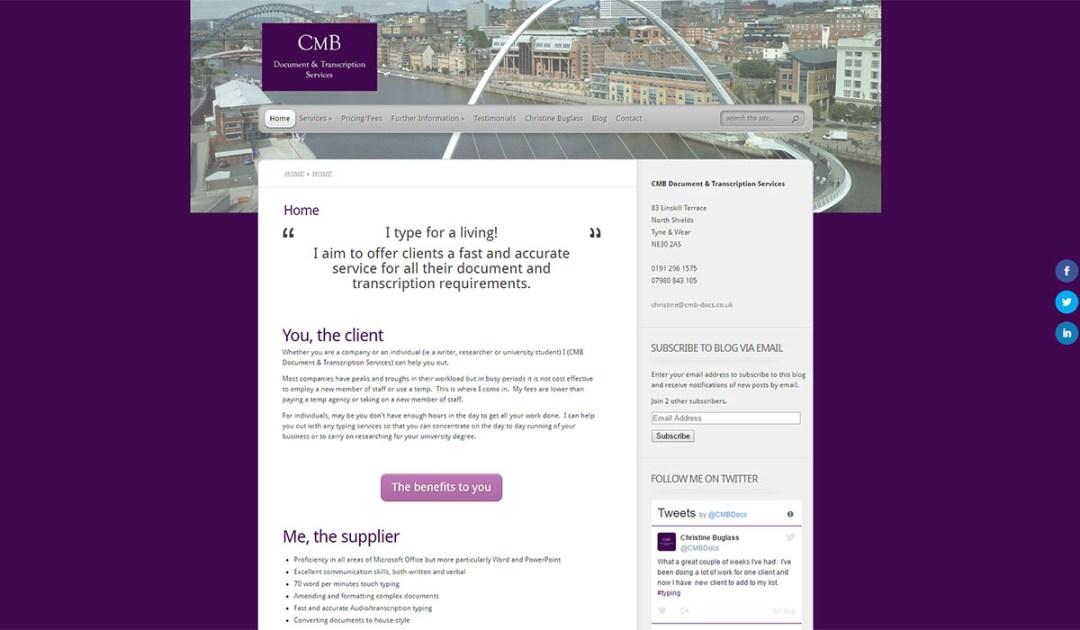 CMB Document & Transcription Services