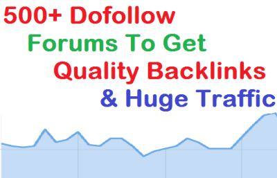 Dofollow Forums List