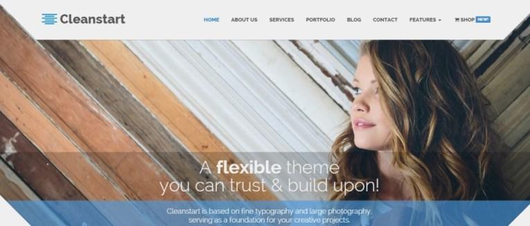 Cleanstart-clean-wordpress-theme