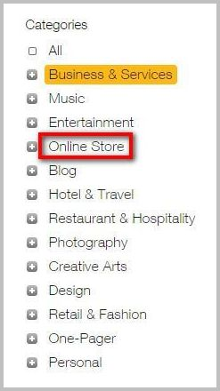 Select-category-for-online-store