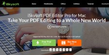 iSkysoftPDFEditorProforMac Review: Experience a Whole New World of PDF Editing