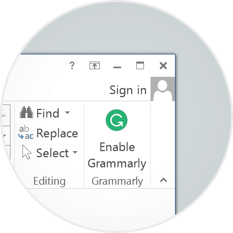 Grammarly-Installation