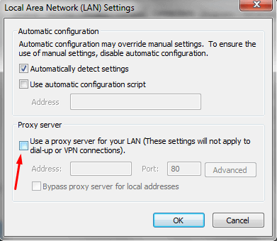 Use a proxy server for your LAN