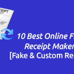 10 Online Free Receipt Maker [Fake & Custom Receipts]