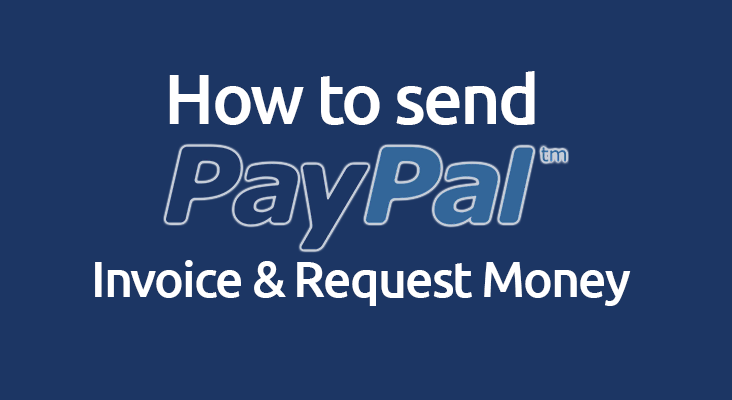 How to send a PayPal invoice