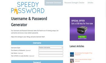 Speedy Password
