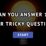 10 Most Popular Tricky Questions | IQ Test