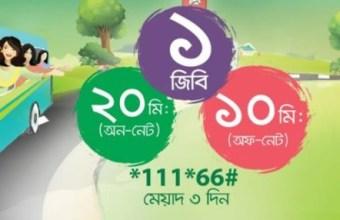 Teletalk EID Offer 1GB & 20 Minute 30Tk