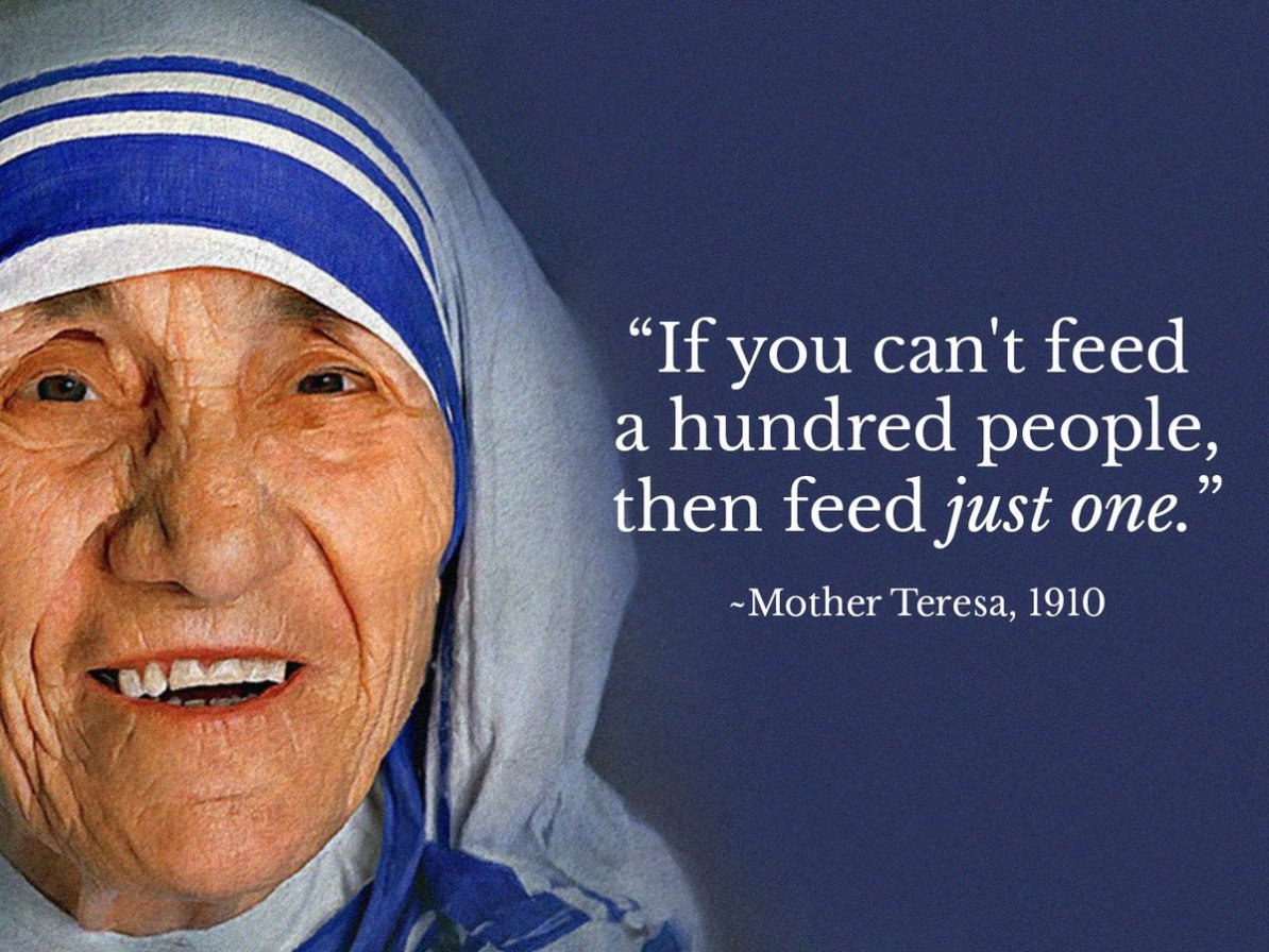 Mother Teresa Inspirational Quotes, Soon-To-Be Catholic ...