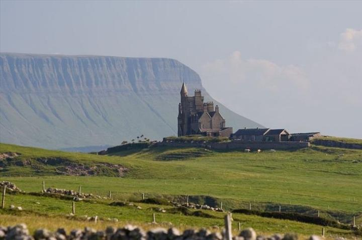 Benbulben in the Dartry Mountains, Ireland