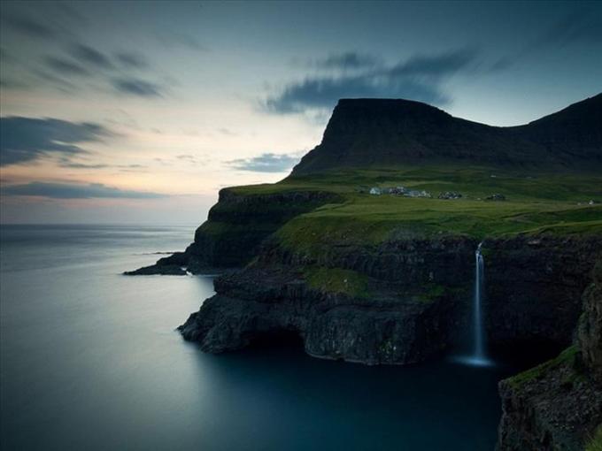 Gasadalur Village in the Faroe Islands