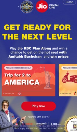 KBC Play Along