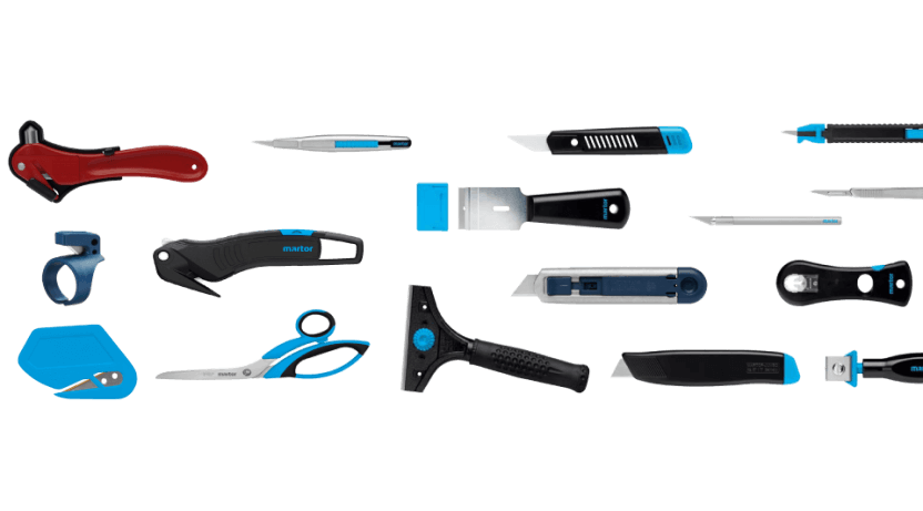safety cutters, safety knife & safety scissors used for various applications in different industries