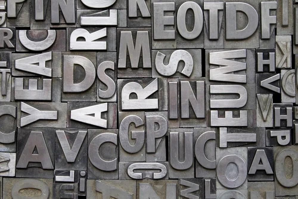 créer une typographie