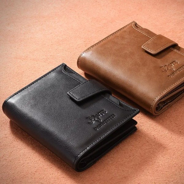 Men's High Quality Leather Wallet Purse 4