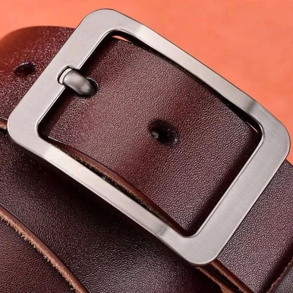 Casual Men's Genuine Leather Belt 3