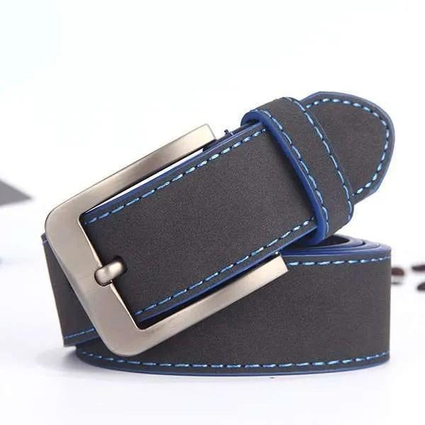 2019 Fashion Leather Belt for Men Italian Design 7