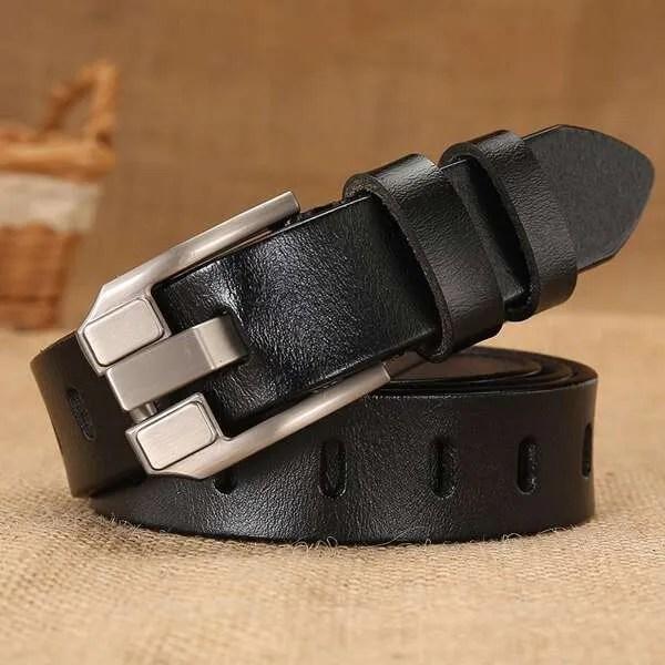Women Designer Fashion Leather Belt 10