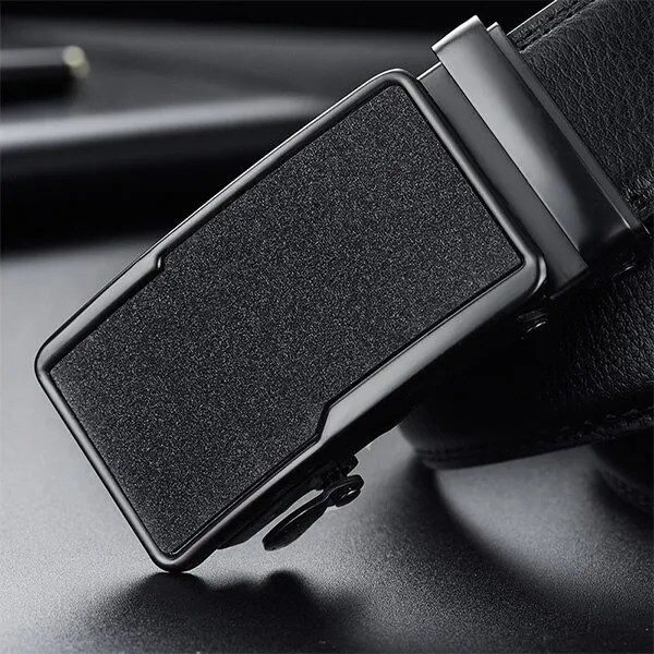 Men Luxury Leather Belt with Automatic Buckle 21