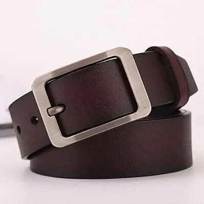 Genuine Cowskin Leather Belts for Men 18
