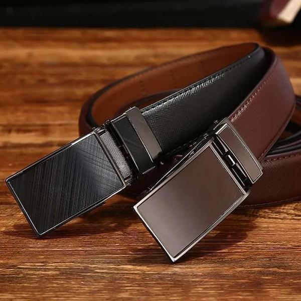 Genuine Leather Men Strap Luxury Belt 4