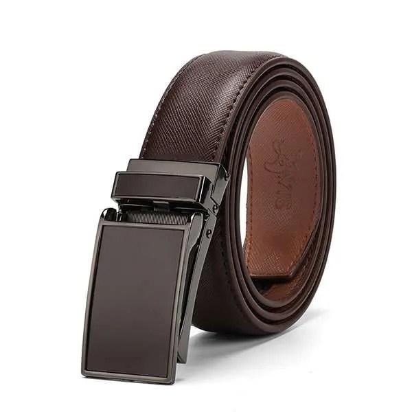 Genuine Leather Men Strap Luxury Belt 7