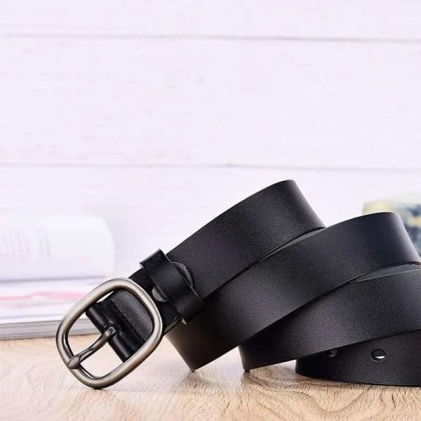 Women Fancy Vintage Leather Jeans Belt 3