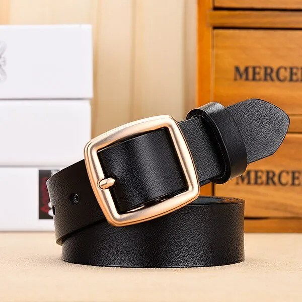 Fashion Women Belt Genuine Leather for Jeans 9