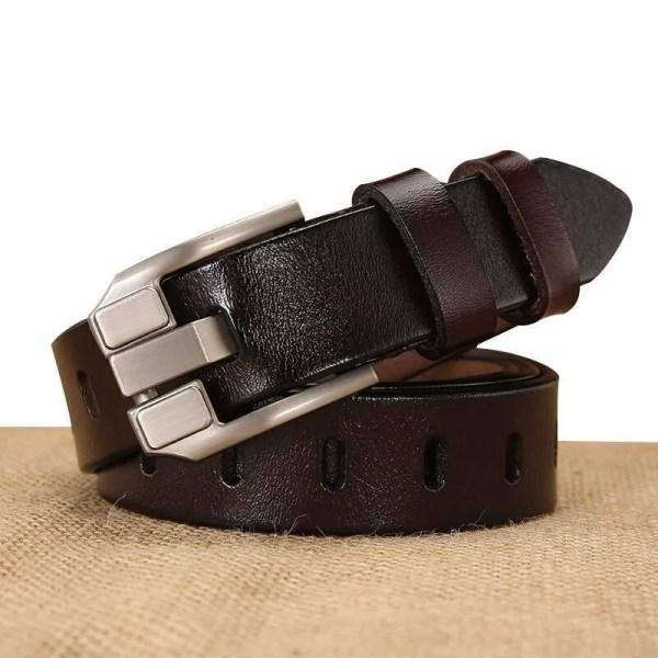 Women Designer Fashion Leather Belt 3