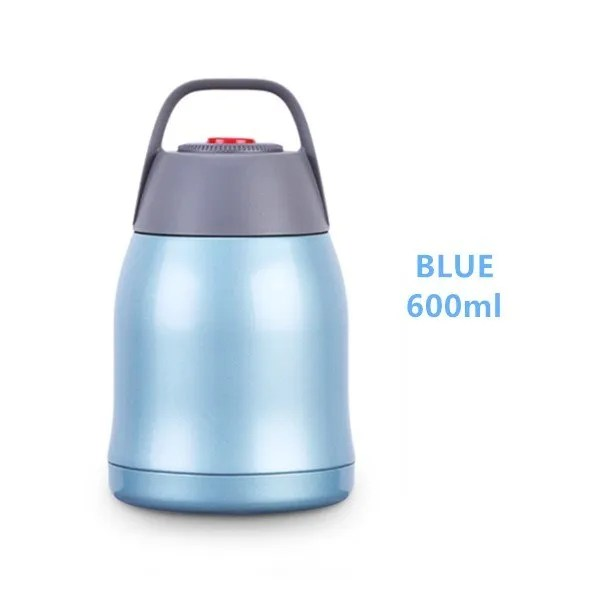 Large Capacity 600ML/800ML/1000ML Thermos Lunch Boxes Portable Stainless Steel 8