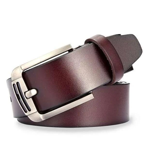Genuine Cowskin Leather Belts for Men 7