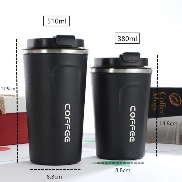 New Style Double 304 Stainless Steel Mug Thermos 4