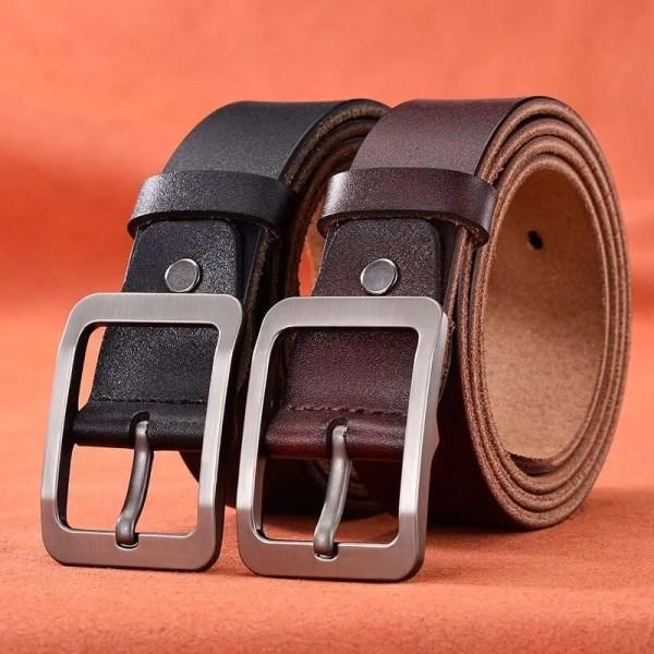 Genuine Cowskin Leather Belts for Men 5